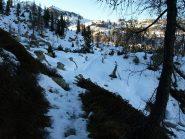 Sentiero a quota 1843 m