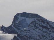 08 - Gr.Aguille Rousse, dettaglio parete Nord con ghiaccio già scoperto