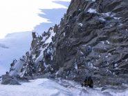 verso l'uscita, fine del ghiaccio