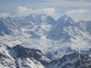 bellissimo il panorama sul Bernina