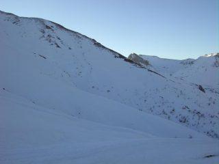 La cresta nord-ovest.