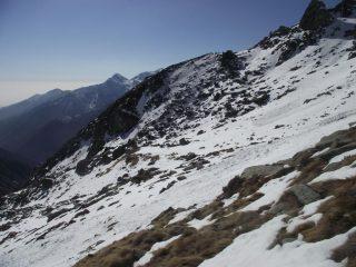 Vista del pianoro dell'Alpe Lavazej dal Rivetti
