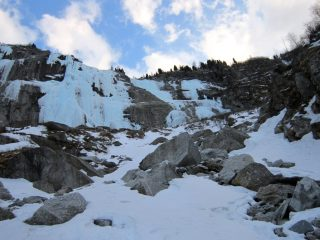 le cascate d'Albigna