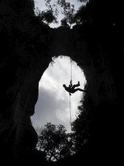 Calata nella Grotta dell'edera