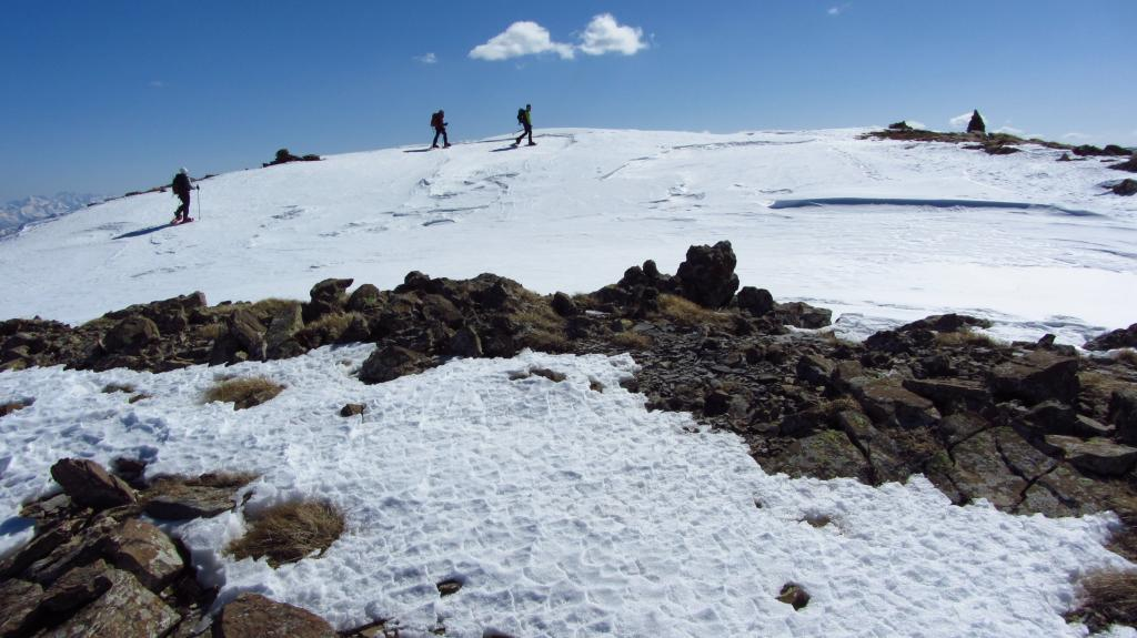 Pisse (Barre de la) dal Col de Vars per il col du Crachet 2012-03-03