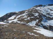 pendio di salita alla cima Ballaur