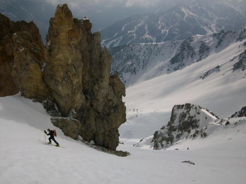 Melchiorre (Punta) da Bardonecchia per il Colle Pissat 2012-03-04