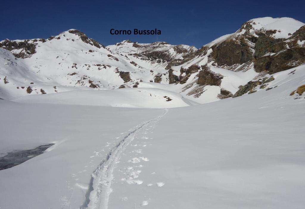 tutto il vallone da percorrere dall'alpe Palasina
