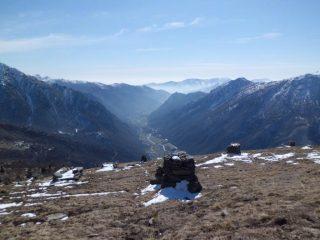 Pascoli del San Bernè sulla Val Grande
