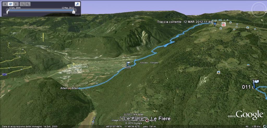 Avena (Monte)Sentiero Tilman 2012-03-13