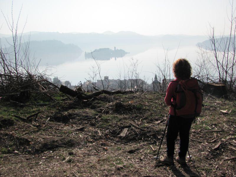 vista sal lago d'Orta