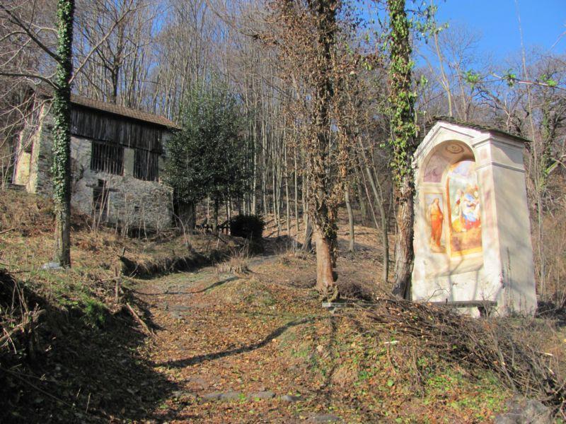 Cammino di San Carlo Tappa 2: Pella - Sacro Monte di Varallo 2012-03-13