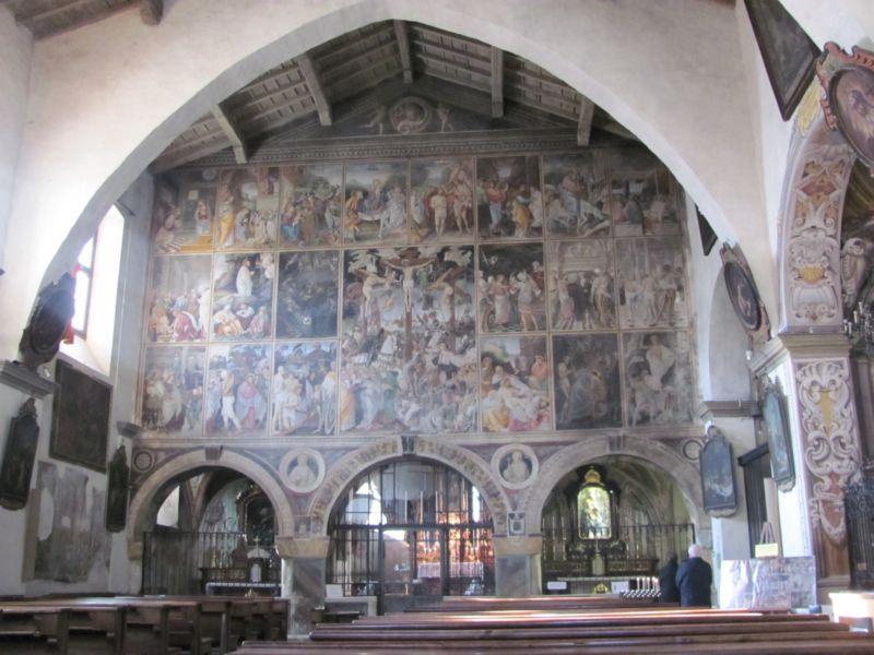 Interno Chiesa a Varallo