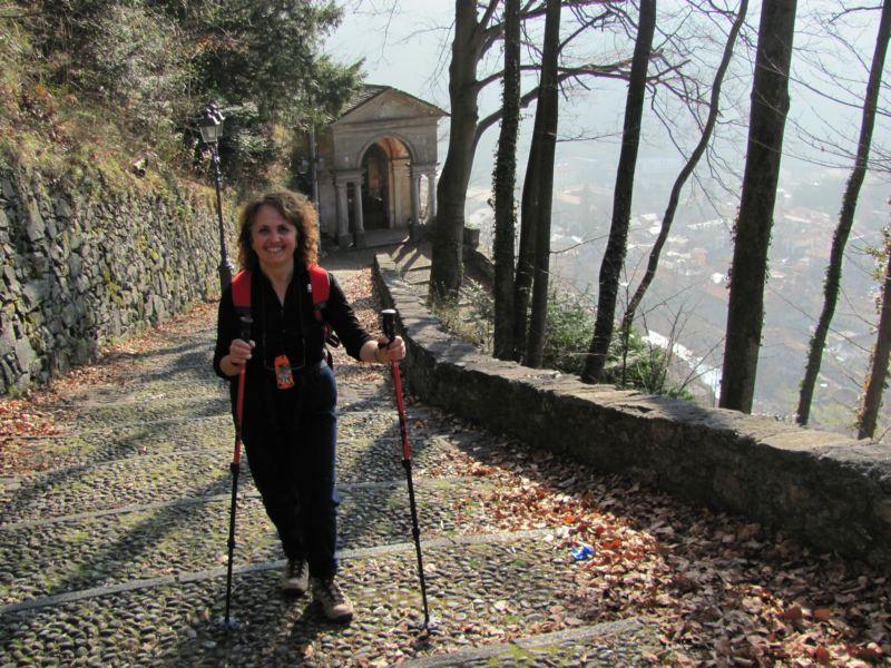 Salita al Sacro Monte di Varallo