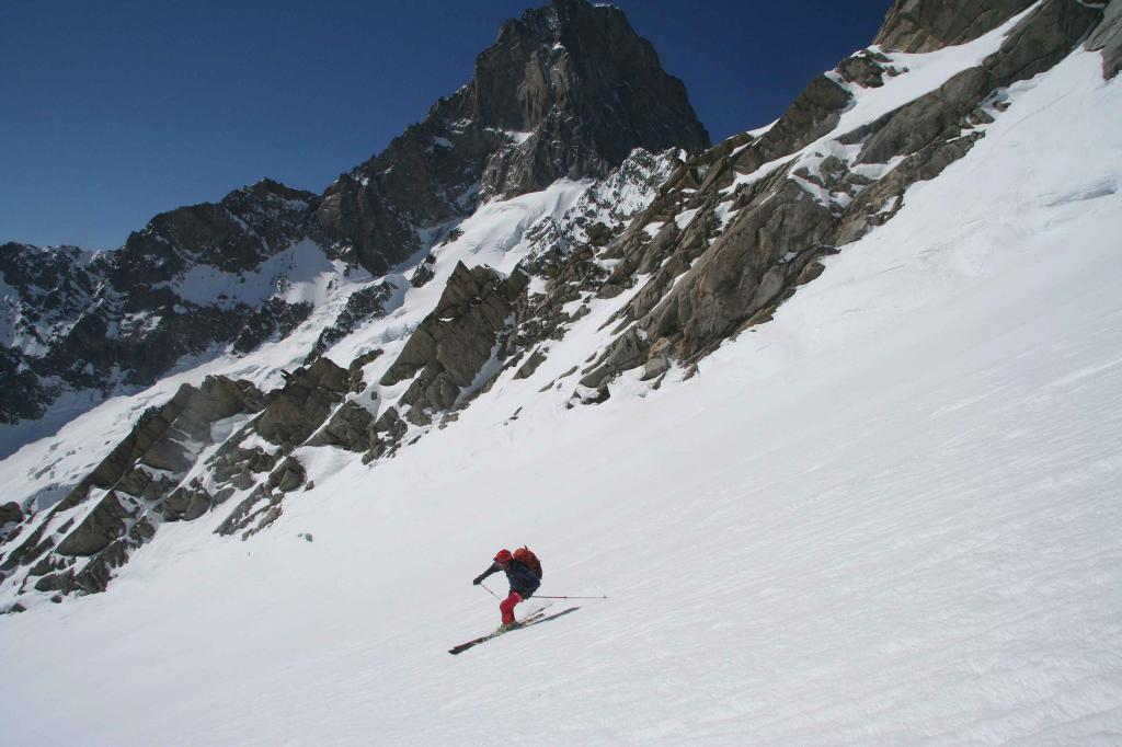 Come si fa a non sciare bene in un posto così