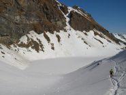 Il Lago Lungo (2632 m) al ritorno