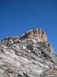 la cresta vista dal colletto