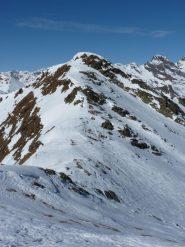 cresta del Saxner vista dal Fleckner