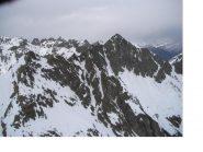 Il Becco alto d'Ischiator dalla Punta Gioffredo.