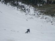 Di nuovo buona neve sul conoide