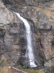 Cascata del Rio Roc, salendo da Pianchette