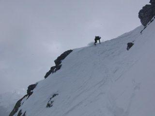 Chetto on the ridge, good snow