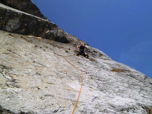 Brento (Monte) Via del Boomerang 2012-03-18