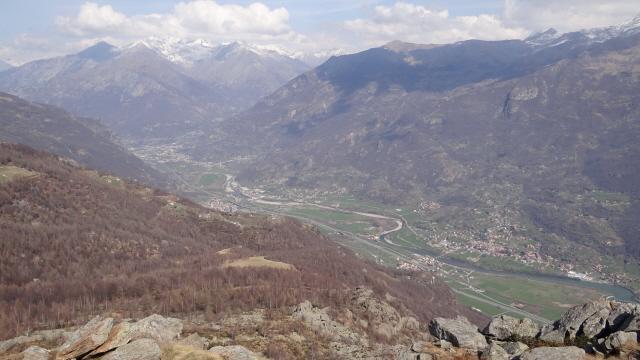 Colme (le) e Monte Cavallaria da Tavagnasco 2012-03-22