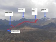 01 - Itinerario visto dal Fondovalle