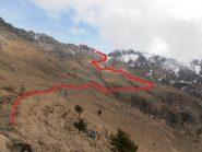 08 - Dall'Alpe Colone, vista sul percorso