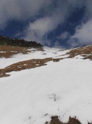 11 - I nevai da risalire per arrivare in cresta
