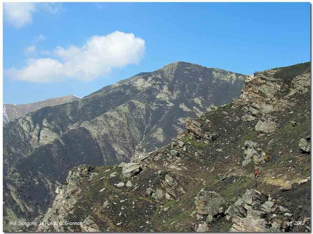 Gianna (Punta) e Monte Cristetto da Prese Damon 2012-03-24