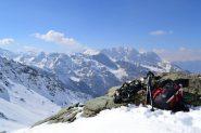 la Val Clavalité vista dal Colle di Raye Chevrère