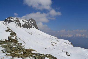 il Mont Avic visto dal Colle di Raye Chevrère