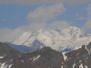 14 - Castore e Lyskamm visti dall'alpe Fontaney