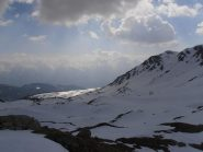 10 - dal Col du Salvé, vista sull'Alpe Fontaney illuminata dal sole