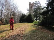la torre in cima alla Burcina