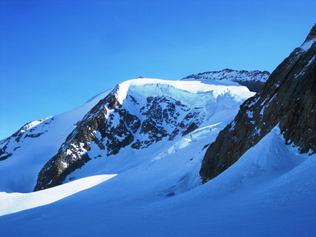 Cheilon (Mont Blanc de) dalla Cabane de Chanrion per il versante Ovest 2012-03-27