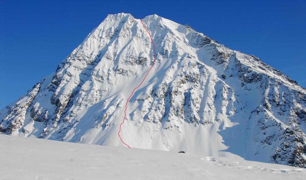 Chugach Mountains, Alaska Matanuska glacier 2012-03-27