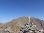 08 - Punta di CostaFiorita con Punta della Croce sullo sfondo