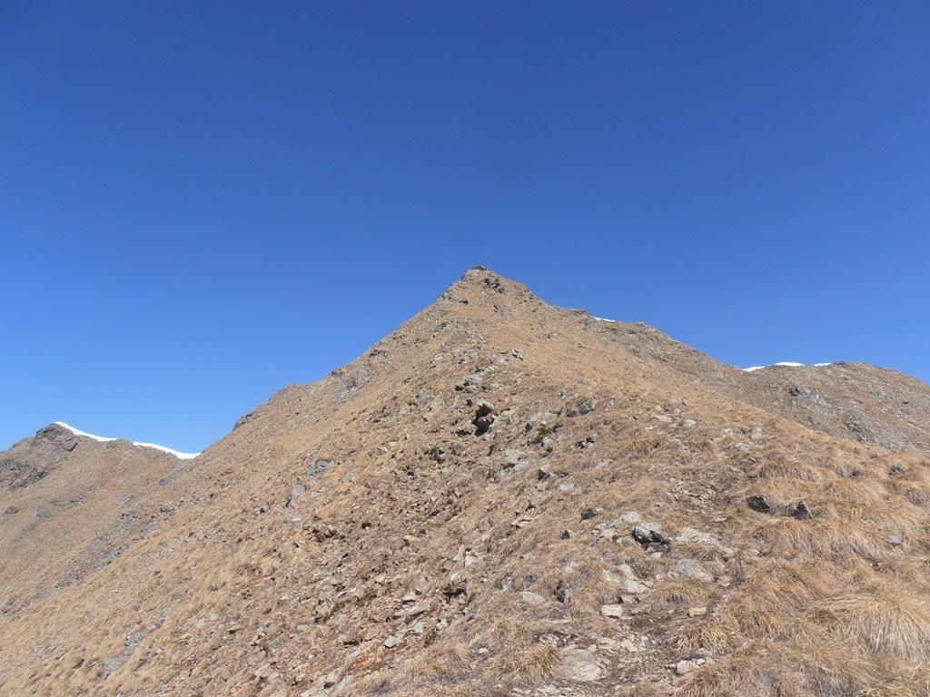 11 - le ultime ripide rampe per la cima