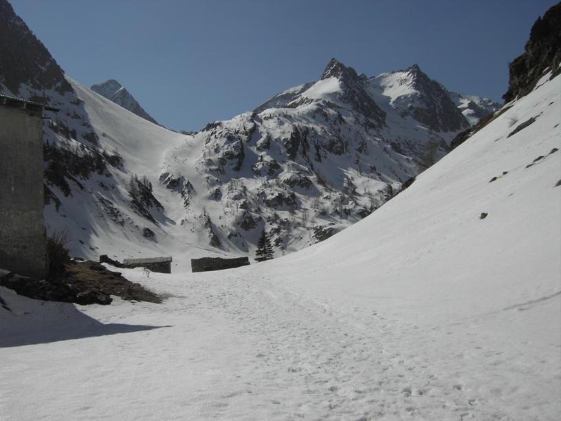 San Bernolfo (Rocca di) da S.Bernolfo, diretta sul versante NE 2012-03-28