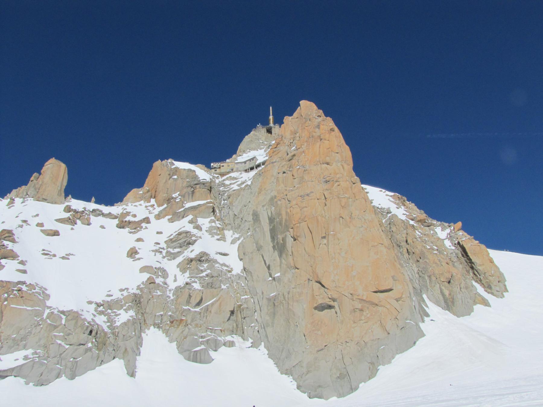 Aiguille du Midi parete sud