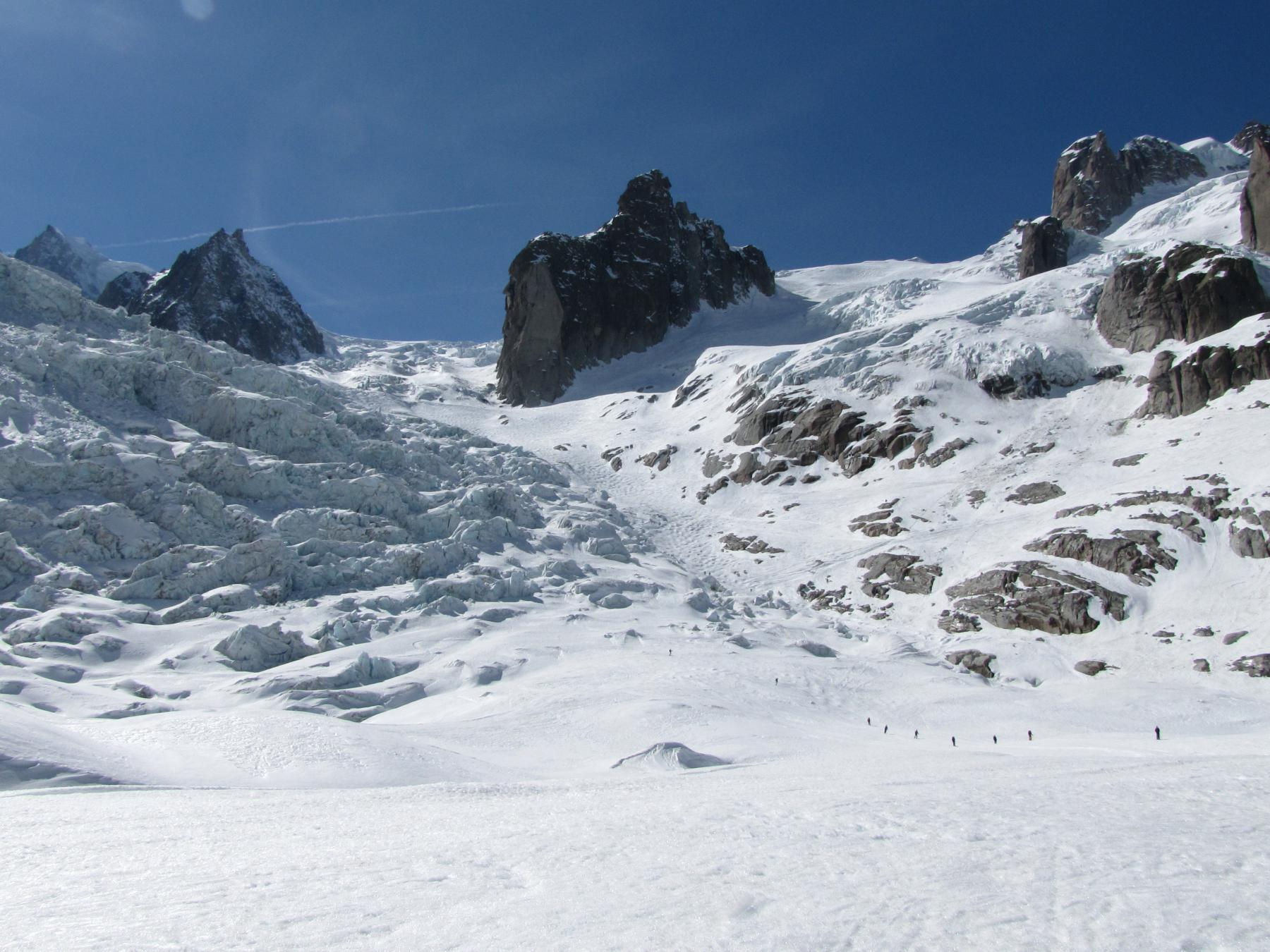 Vallée Blanche da Aiguille du Midi 2012-03-28
