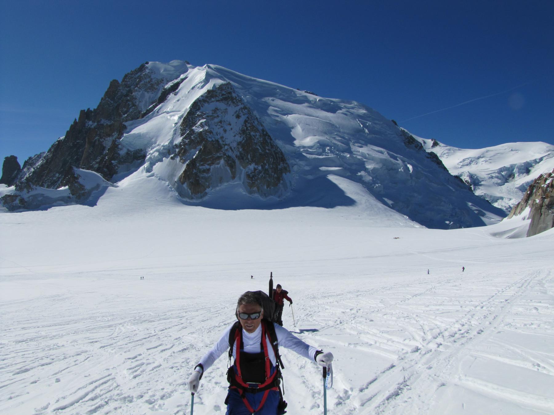 Col du midi e Mont Blanc de Tacul