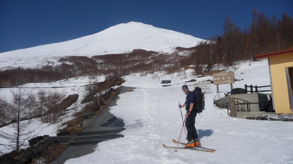 Fuji (Monte) parete est 2012-03-29