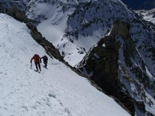 Mau e Giuseppe sulla cresta finale
