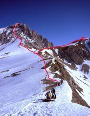 Direttissima e a dx Monte Aquila