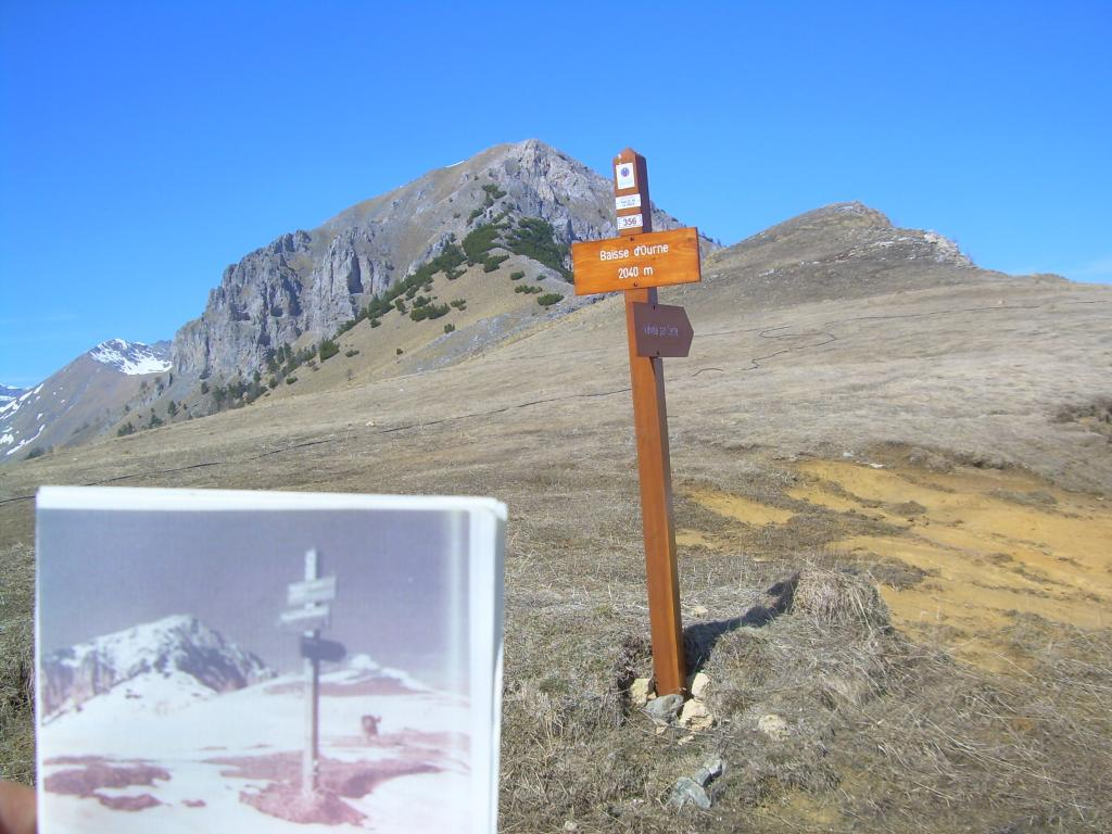 Chajol (Mont) anello Valloni Caramagne e de Dente per la Basse de Peyrefique 2012-03-31
