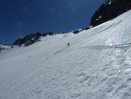 Discesa nel vallone ex ghiacciaio Muraion